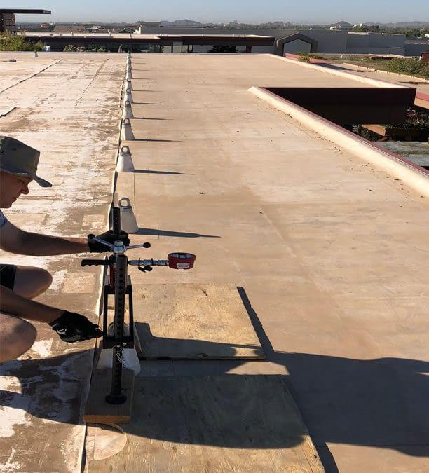 Rooftop Anchor Verification Inspection Company Arizona Nevade California