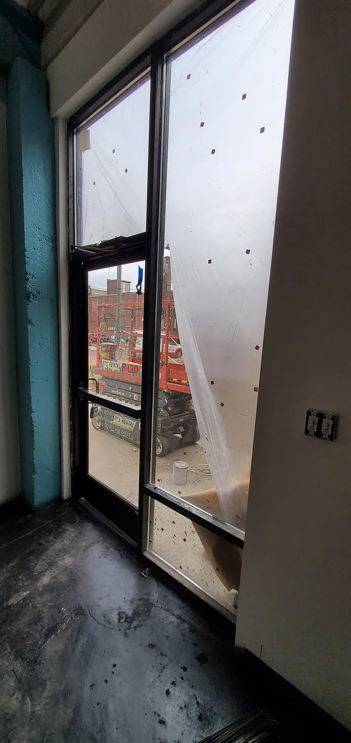 Post construction window washing company Denver CO