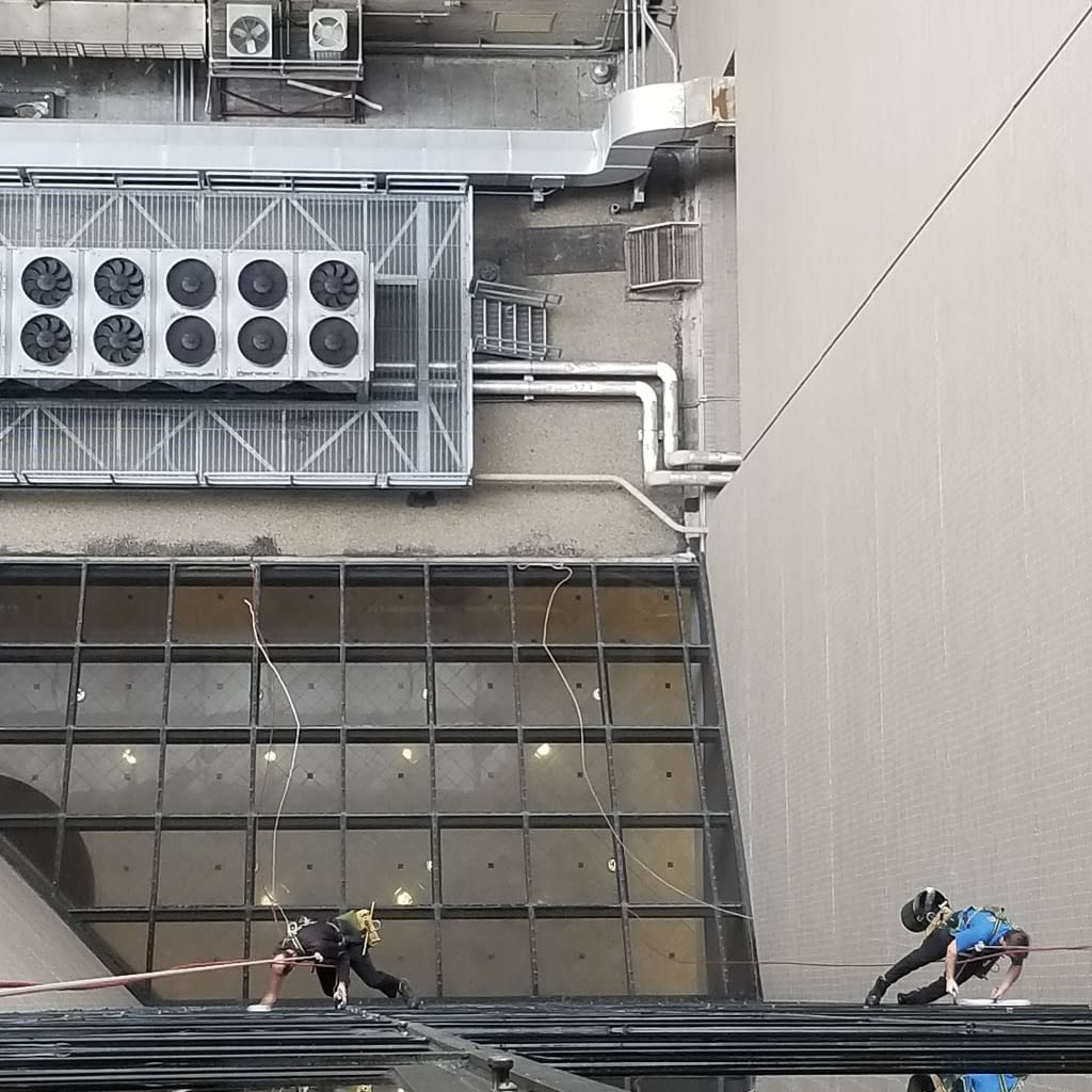 High sky light window cleaning company in Denver