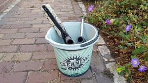Window Washing Bucket and Solution