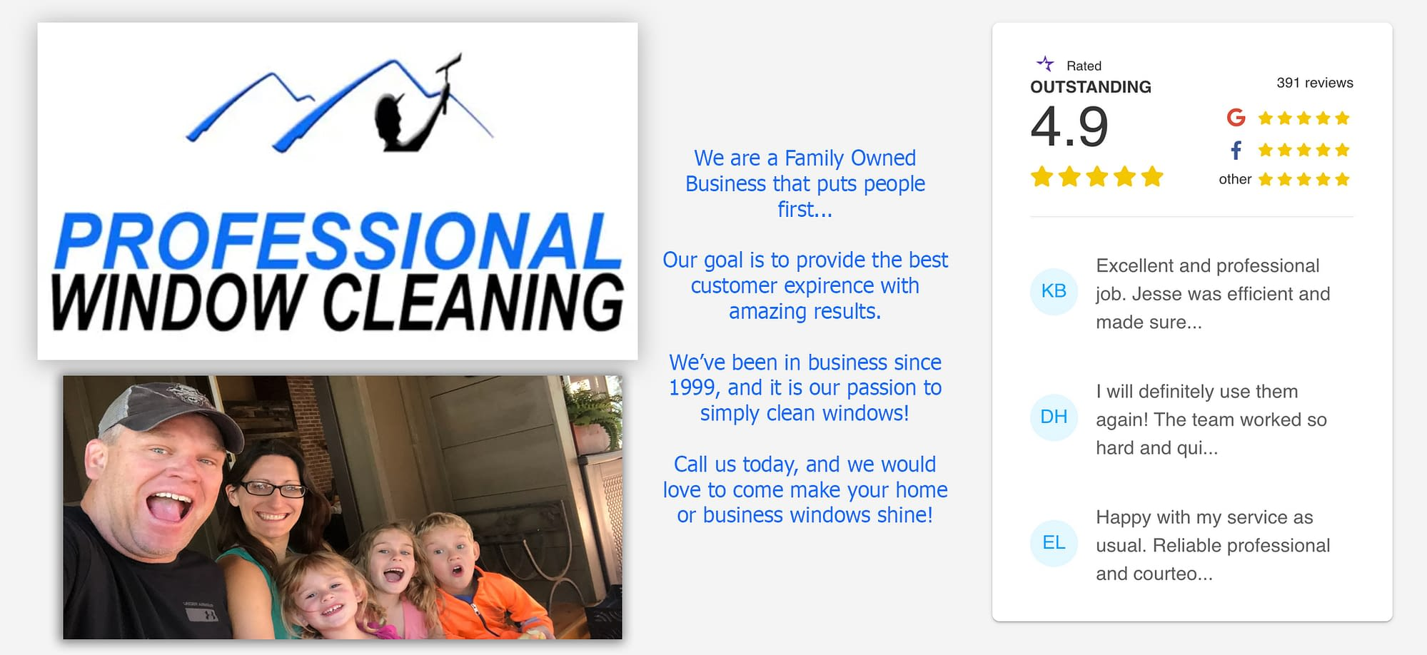 Professional Window Cleaning in Golden, CO